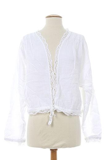 aurea et vita vestes femme de couleur blanc