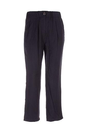bonsui pantalons femme de couleur noir