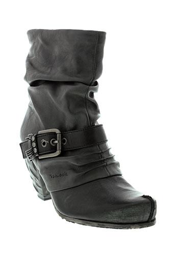 tamaris bottines femme de couleur gris