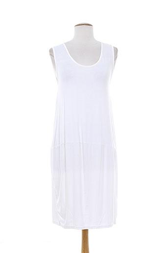 lm la maille robes femme de couleur blanc