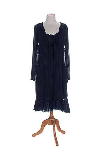 melvin robes femme de couleur bleu