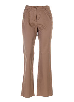 Pantalon casual marron GINA B HEIDEMANN pour femme