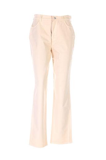 leone pantalons et decontractes femme de couleur beige