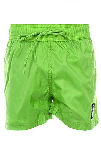 hero seven maillots de bain garçon de couleur vert