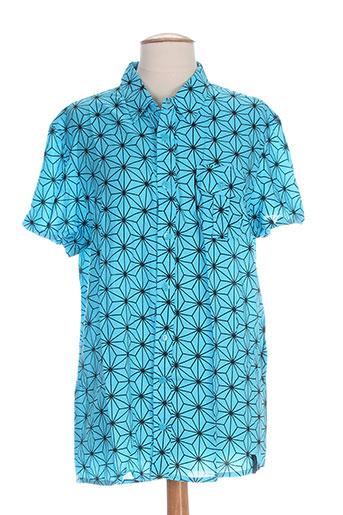 turbowear chemises femme de couleur bleu