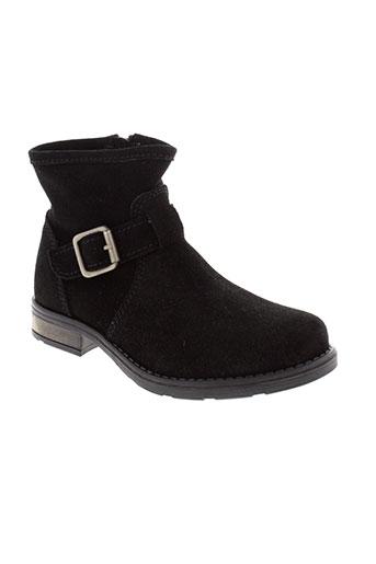 mellow et yellow boots fille de couleur noir