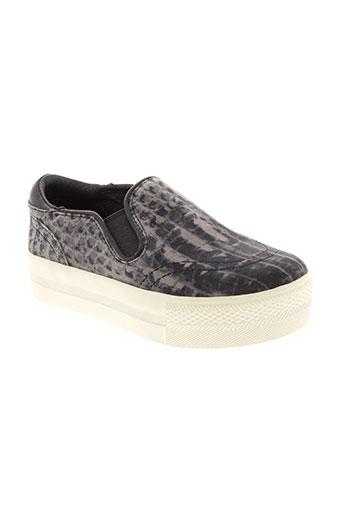 ash chaussures fille de couleur noir