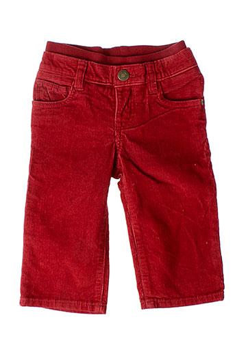 gap pantalons garçon de couleur rouge