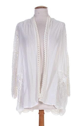 charlie joe vestes femme de couleur blanc