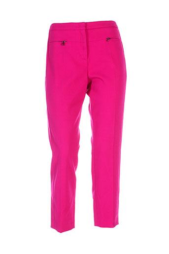 dorothee schumacher pantalons femme de couleur rose