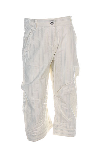 jean bourget pantalons garçon de couleur blanc