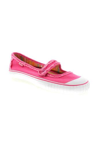 keds ballerines femme de couleur rose