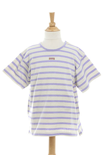 contre vents et marees t-shirts fille de couleur violet