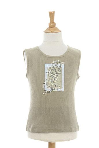 contre vents et marees t-shirts / tops fille de couleur gris