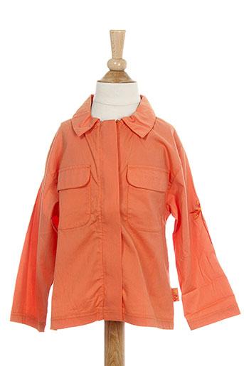 Chemise manches longues orange MARESE pour garçon