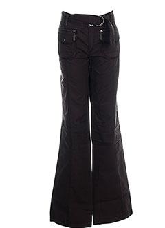 Pantalon casual marron DDP pour fille