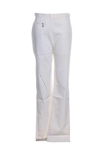 Pantalon chic blanc CHATTAWAK pour fille