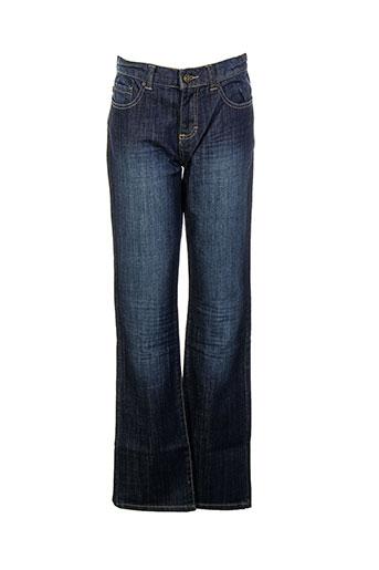 corleone jeans fille de couleur bleu