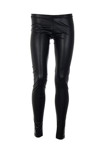 biscote pantalons femme de couleur noir