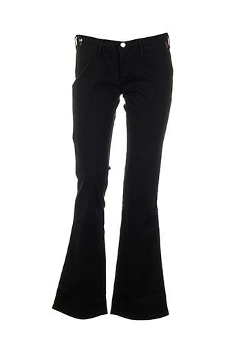 cimarron pantalons et decontractes femme de couleur noir