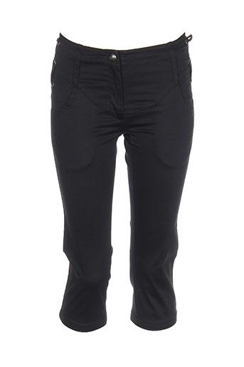 jean paul gaultier pantacourts fille de couleur noir