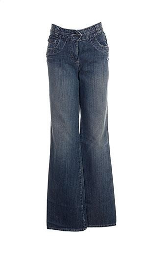 mexx jeans fille de couleur bleu