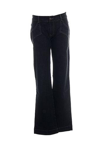 chipie jeans fille de couleur noir