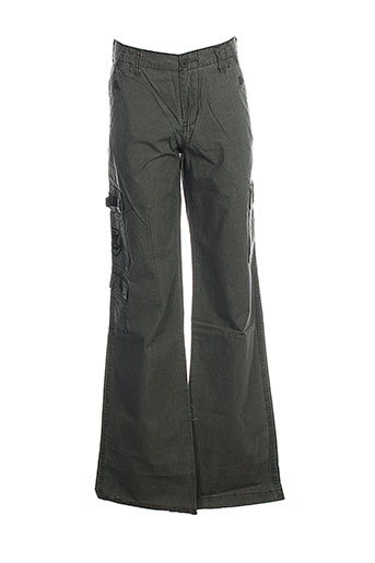 corleone pantalons garçon de couleur vert