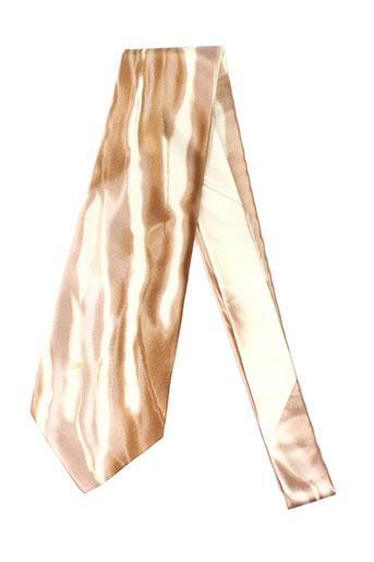 Cravate beige CARNAVAL DE VENISE pour homme