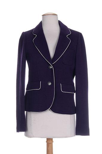 gant vestes femme de couleur violet
