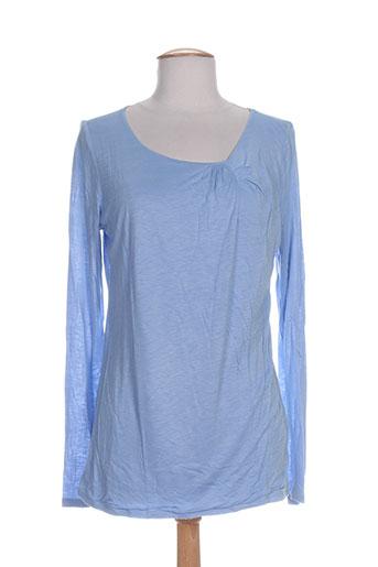 daniel hechter chemises femme de couleur bleu