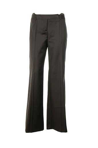 Pantalon chic marron TARA JARMON pour femme