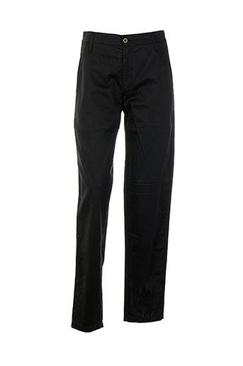 Pantalon casual noir BISCOTE pour femme