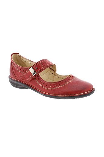 gold et shoes villes femme de couleur rouge