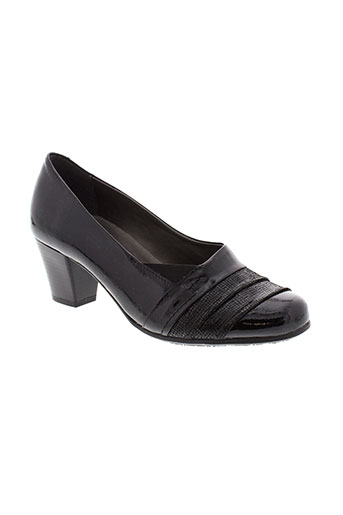 alpina escarpins femme de couleur noir