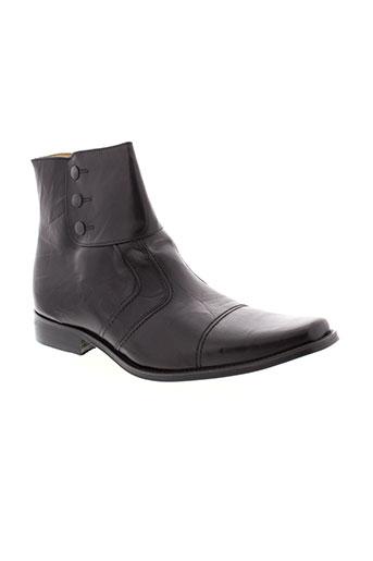 ultra et jovem boots homme de couleur noir