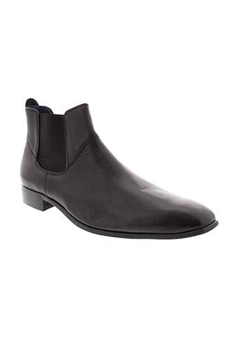 hipness boots homme de couleur noir