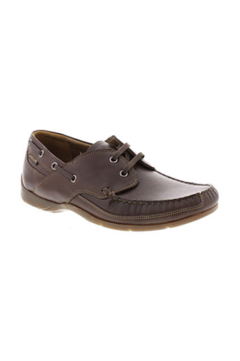 mephisto mocassins homme de couleur marron