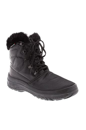 antarctica boots femme de couleur noir