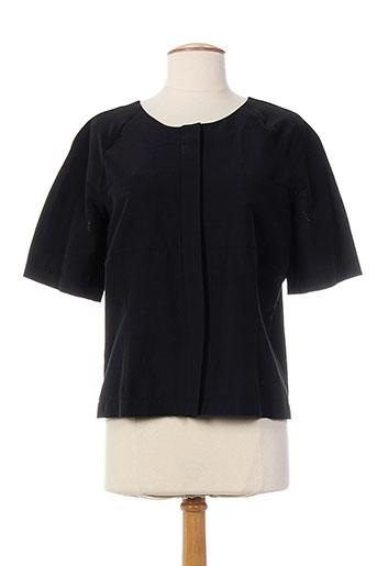 pier bé chemises femme de couleur noir