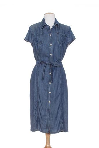 rhapsodie robes femme de couleur bleu