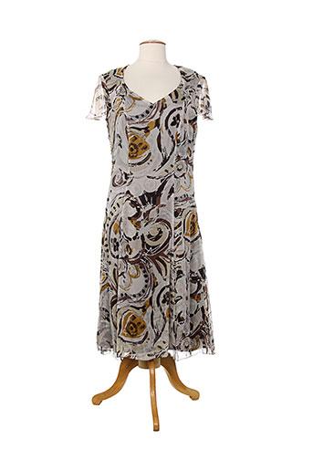 rhapsodie robes femme de couleur marron