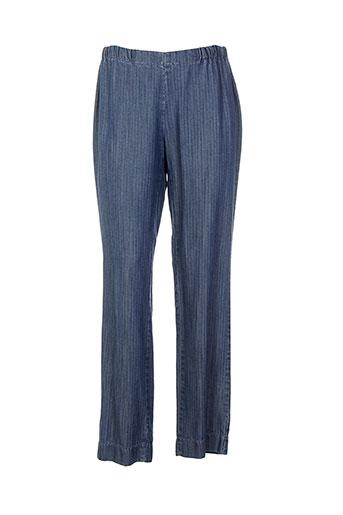weinberg pantalons et decontractes femme de couleur bleu