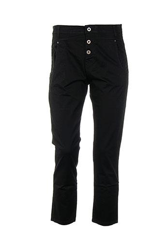 la et fee et maraboutee pantalons et decontractes femme de couleur noir