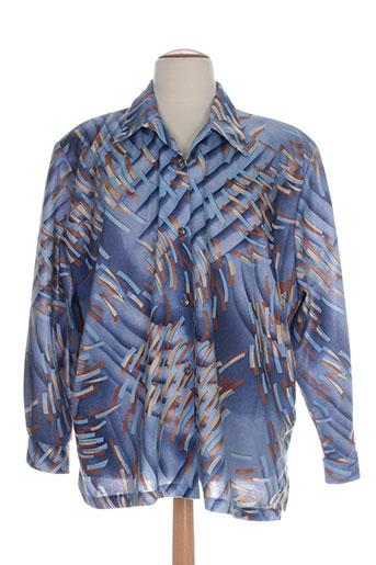 20/20 chemises femme de couleur bleu