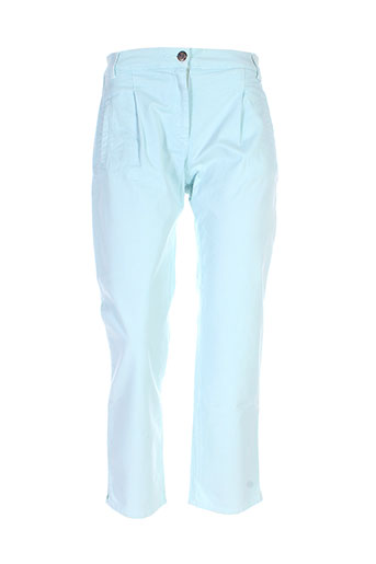 royal mer bretagne pantalons femme de couleur vert