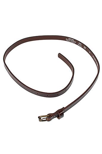bruno et saint et hilaire ceintures femme de couleur marron