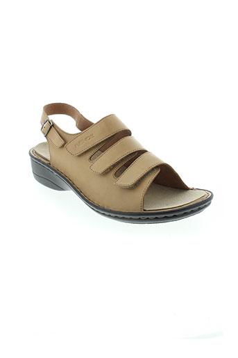 rohde sandales et nu et pieds femme de couleur beige