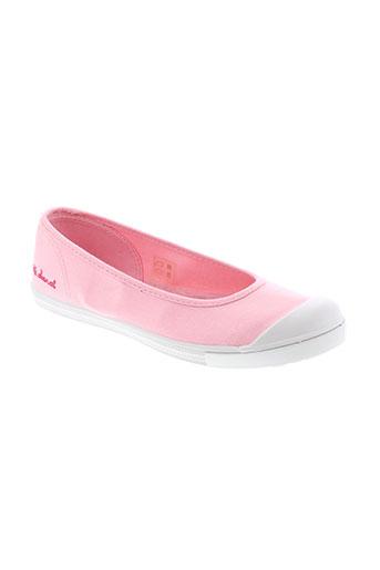 little et marcel ballerines femme de couleur rose