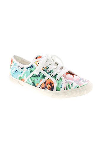 refresh chaussures femme de couleur vert